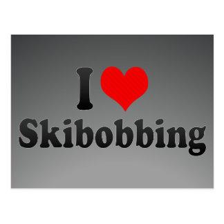 I love Skibobbing Postcard