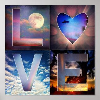 I Love Skies Poster