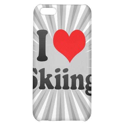 I love Skiing iPhone 5C Case