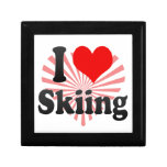 I love Skiing Jewelry Box
