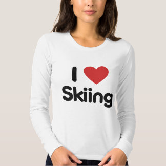 I Love Skiing Shirt