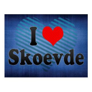 I Love Skoevde, Sweden Postcard