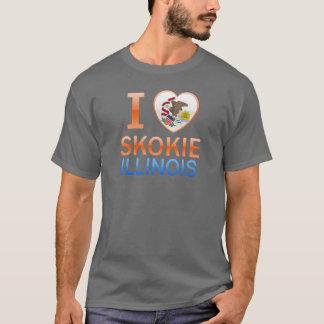 I Love Skokie, IL T-Shirt