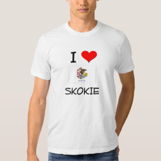 I Love SKOKIE Illinois Tshirts