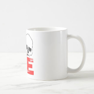 I love skull print coffee mug