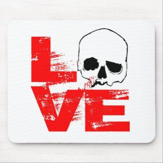 I love skull print mouse pad