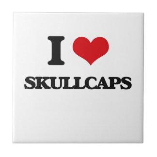 I love Skullcaps Ceramic Tile