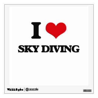 I love Sky Diving Room Graphics
