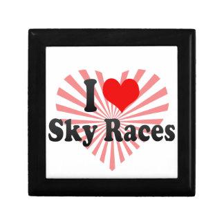 I love Sky Races Keepsake Box