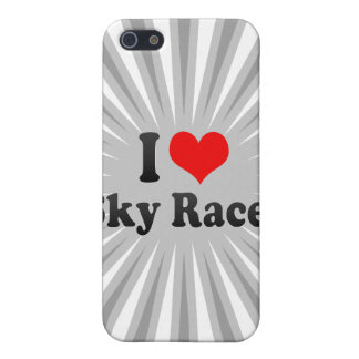 I love Sky Races Cases For iPhone 5