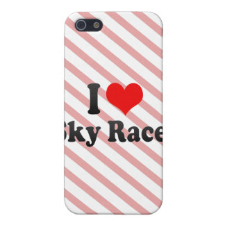I love Sky Races Case For iPhone 5