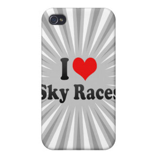 I love Sky Races Case For iPhone 4