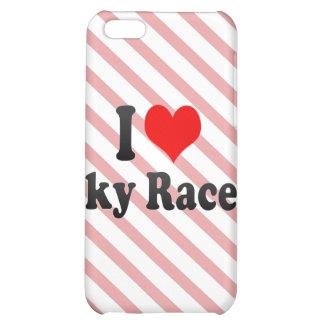 I love Sky Races iPhone 5C Cases