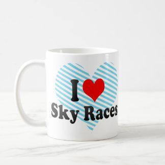 I love Sky Races Coffee Mug
