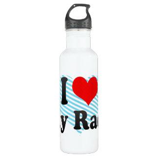 I love Sky Races 24oz Water Bottle