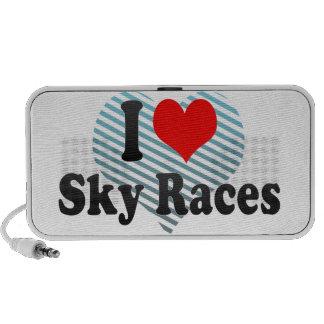 I love Sky Races Laptop Speakers