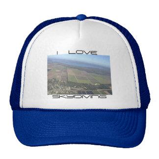 I LOVE SKYDIVING HATS