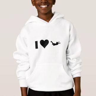 I Love Skydiving Hoodie