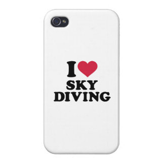 I love Skydiving Cases For iPhone 4