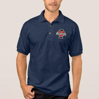 I Love Skydiving Polo Shirt