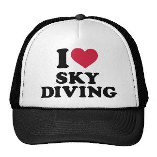 I love Skydiving Trucker Hat
