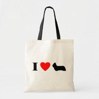 I Love Skye Terriers Bag