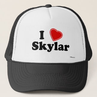 I Love Skylar Trucker Hat
