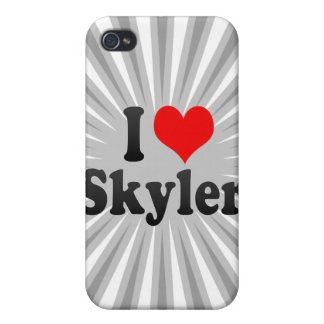 I love Skyler iPhone 4 Cases