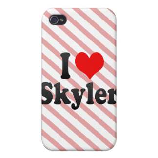 I love Skyler Cover For iPhone 4