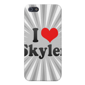 I love Skyler iPhone 5 Case