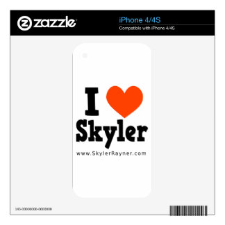 I Love Skyler Skin For The iPhone 4S