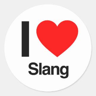 i love slang stickers