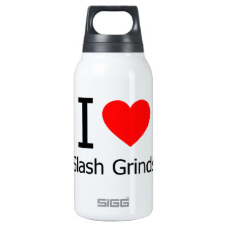 I Love Slash Grinds 10 Oz Insulated SIGG Thermos Water Bottle
