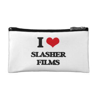 I love Slasher Films Makeup Bags