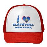 I love Slate Hill, New York Trucker Hat