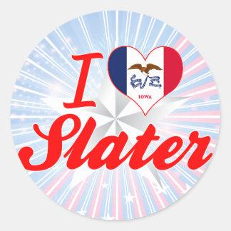 I Love Slater, Iowa Sticker