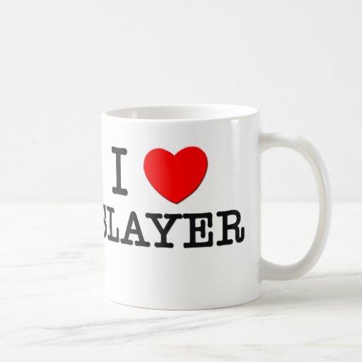 I Love Slayer Coffee Mugs