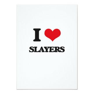 I love Slayers 5x7 Paper Invitation Card