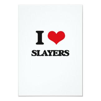 I love Slayers 3.5x5 Paper Invitation Card