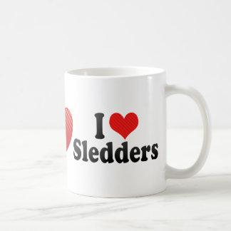 I Love Sledders Mug