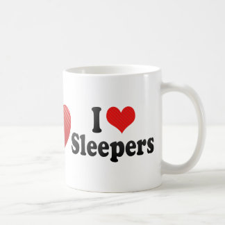 I Love Sleepers Mugs
