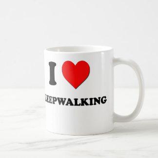 I love Sleepwalking Classic White Coffee Mug