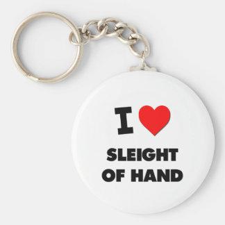 I love Sleight Of Hand Key Chain