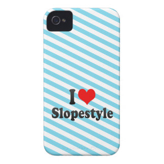 I love Slopestyle iPhone 4 Case-Mate Cases