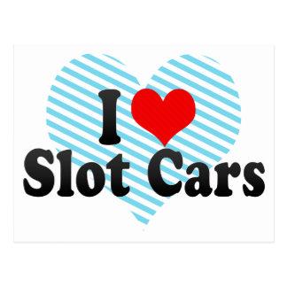 I Love Slot Cars Post Cards