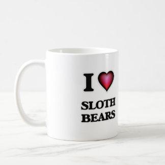 I Love Sloth Bears Coffee Mug