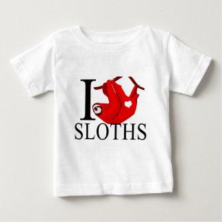 I Love Sloths Baby's T Shirt
