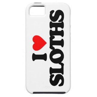 I LOVE SLOTHS iPhone SE/5/5s CASE