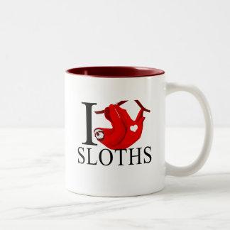I Love Sloths Mugs