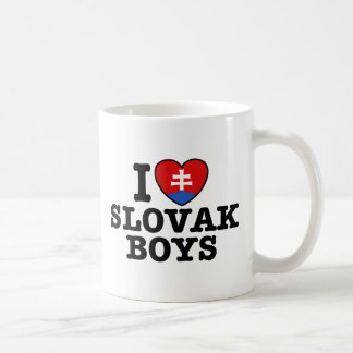 I Love Slovak Boys Classic White Coffee Mug